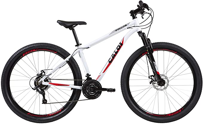 Bicicleta Aro 29 Caloi Vulcan Tamanho 17 Câmbio SunRun