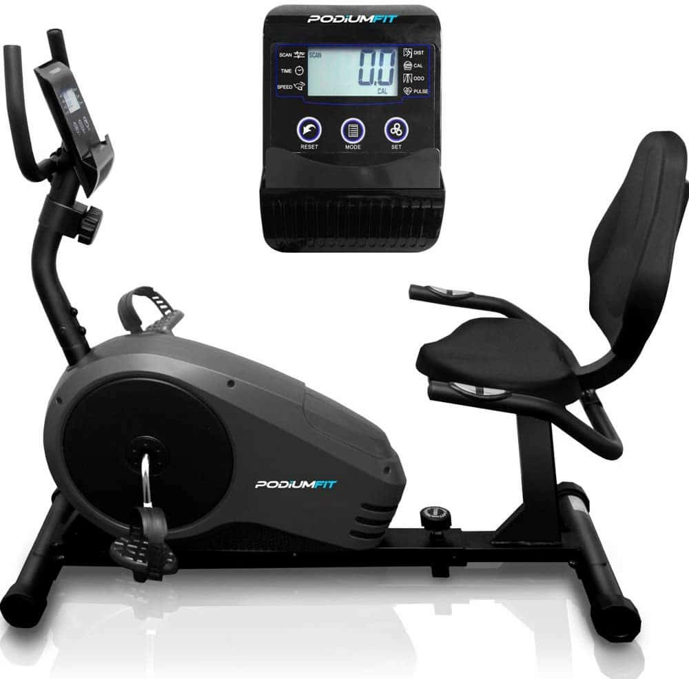 Bicicleta Ergométrica Horizontal PodiumFit H300