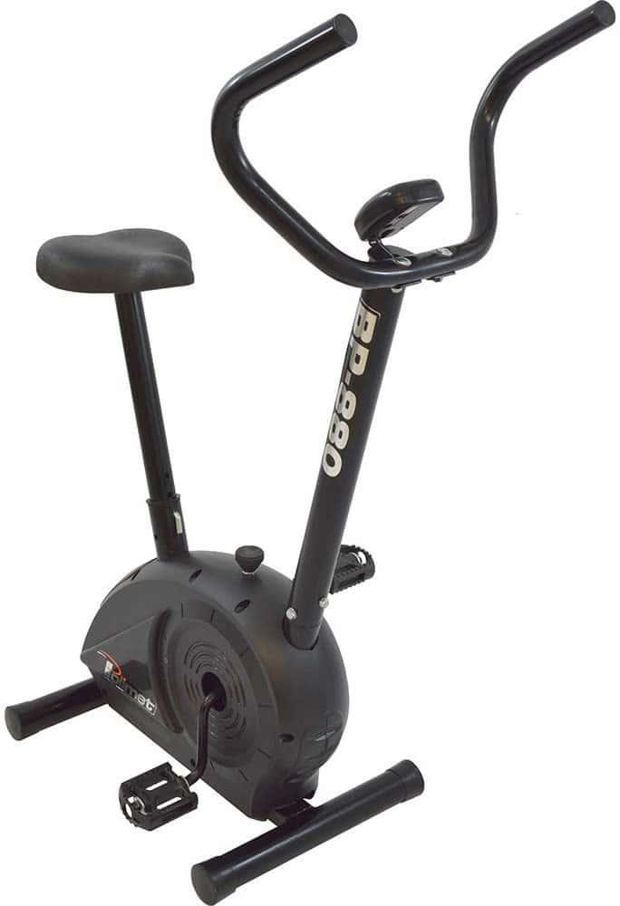 Bicicleta Horizontal BH-3800 Polimet Unissex Preto