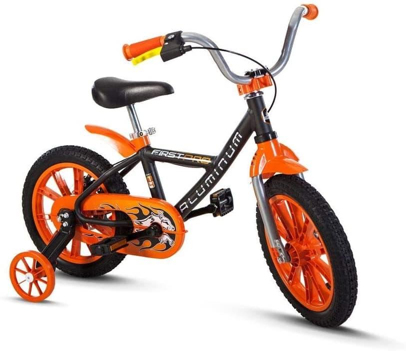 Bicicleta Aro 14 First Pro Laranja – Nathor
