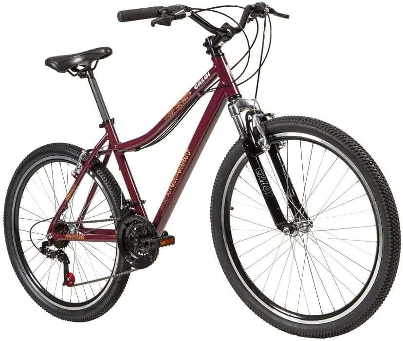 Bicicleta Aro 26 Caloi Rouge Vinho