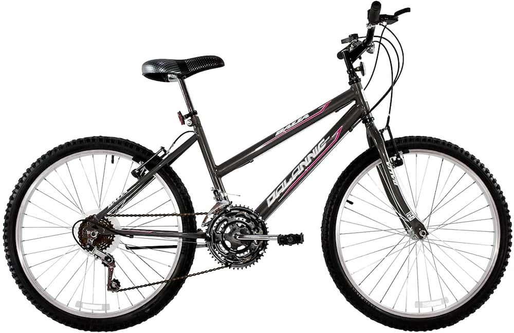 Bicicleta Aro 26 Feminina Dalia 18 Marchas