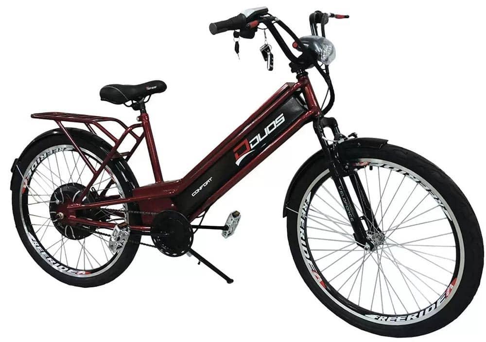 Bicicleta Elétrica Confort 800W 48V 15Ah