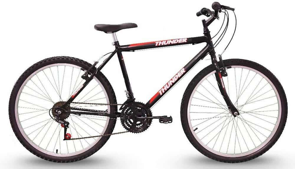 Bicicleta Track Bikes Thunder II, Aro 26, Freios