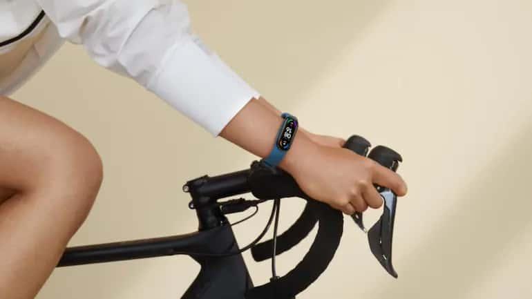 Xiaomi Mi Band 5 no ciclismo