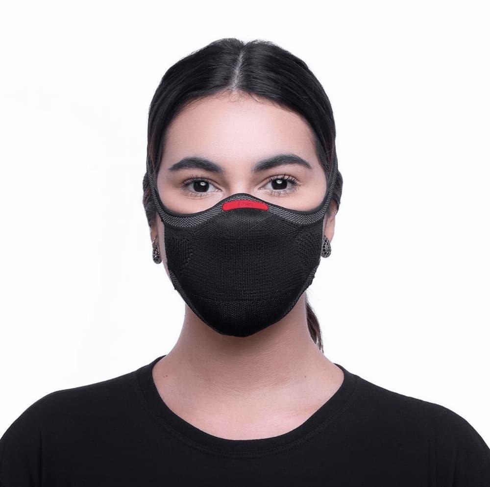 Máscara KNIT Fiber de Proteção Reutilizável
