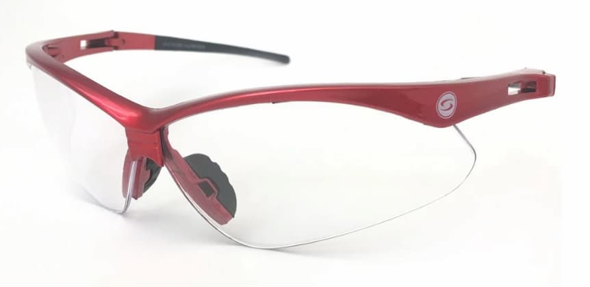 Óculos De Ciclismo Esportivo Antiembaçante E Antirrisco SS7 Vermelho